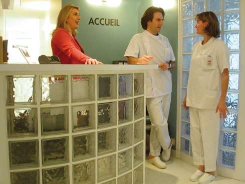 Sigrid, secrétaire et Catherine assistante du Dr Philippe ROL, Rennes