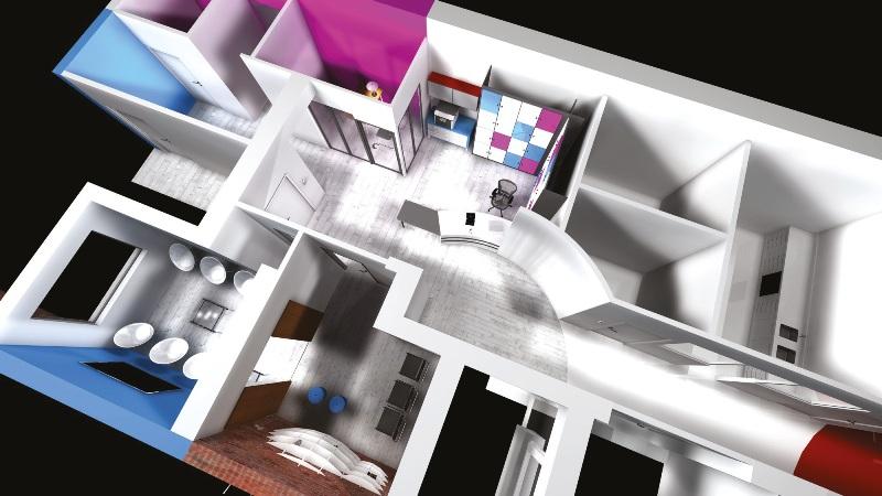 nouveaux paradigmes d un cabinet dentaire en architecture. Black Bedroom Furniture Sets. Home Design Ideas