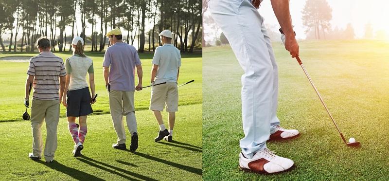 se METTRE au golf
