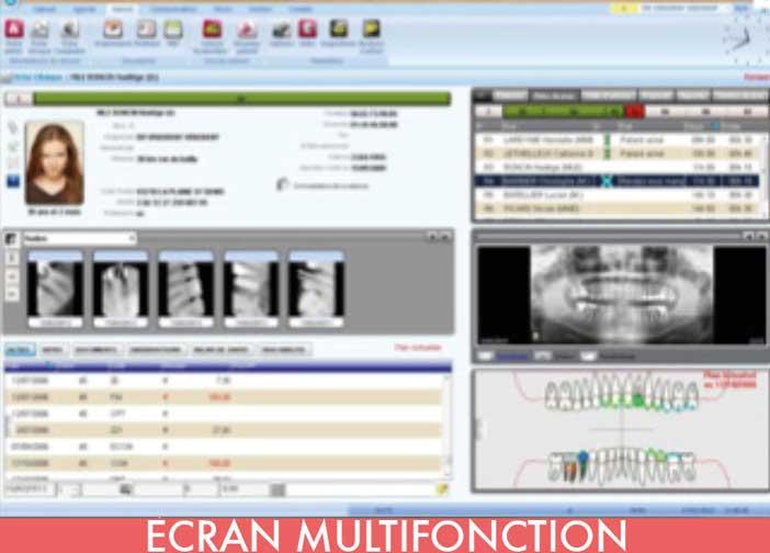 ÉCRAN-MULTIFONCTION