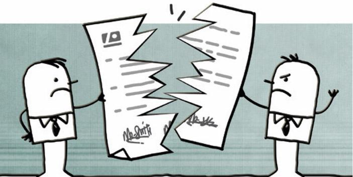 cdt contrat de travail La rupture conventionnelle du contrat de travail au cabidentaire cdt contrat de travail