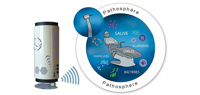 beewair une nouvelle technologie brevet e pour d contaminer l air des cabinets dentaires. Black Bedroom Furniture Sets. Home Design Ideas