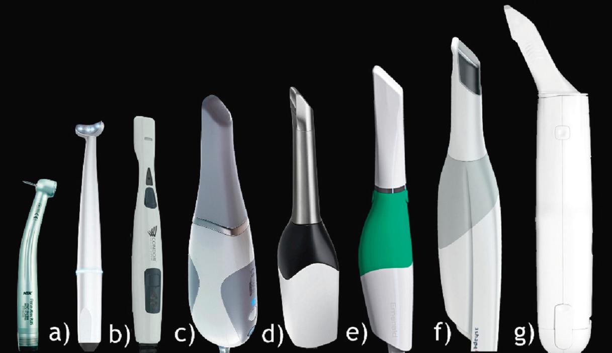 Comparaison de la taille des différentes cameras testees