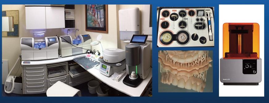 laboratoire au cabinet Mcxl DentsplySirona et Formlabs